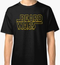 Beard Wars May The Fuzz Be With You Men's Funny Beard Sci-fi  Classic T-Shirt