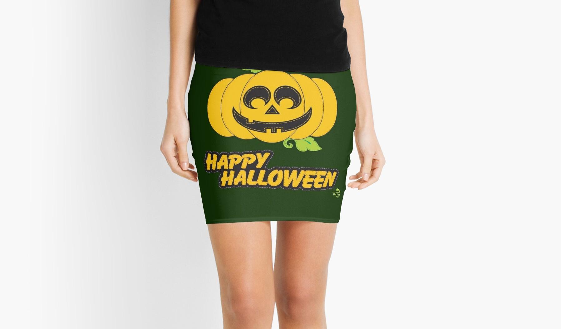 Jack O' Lantern Happy Halloween by BadCatDesigns