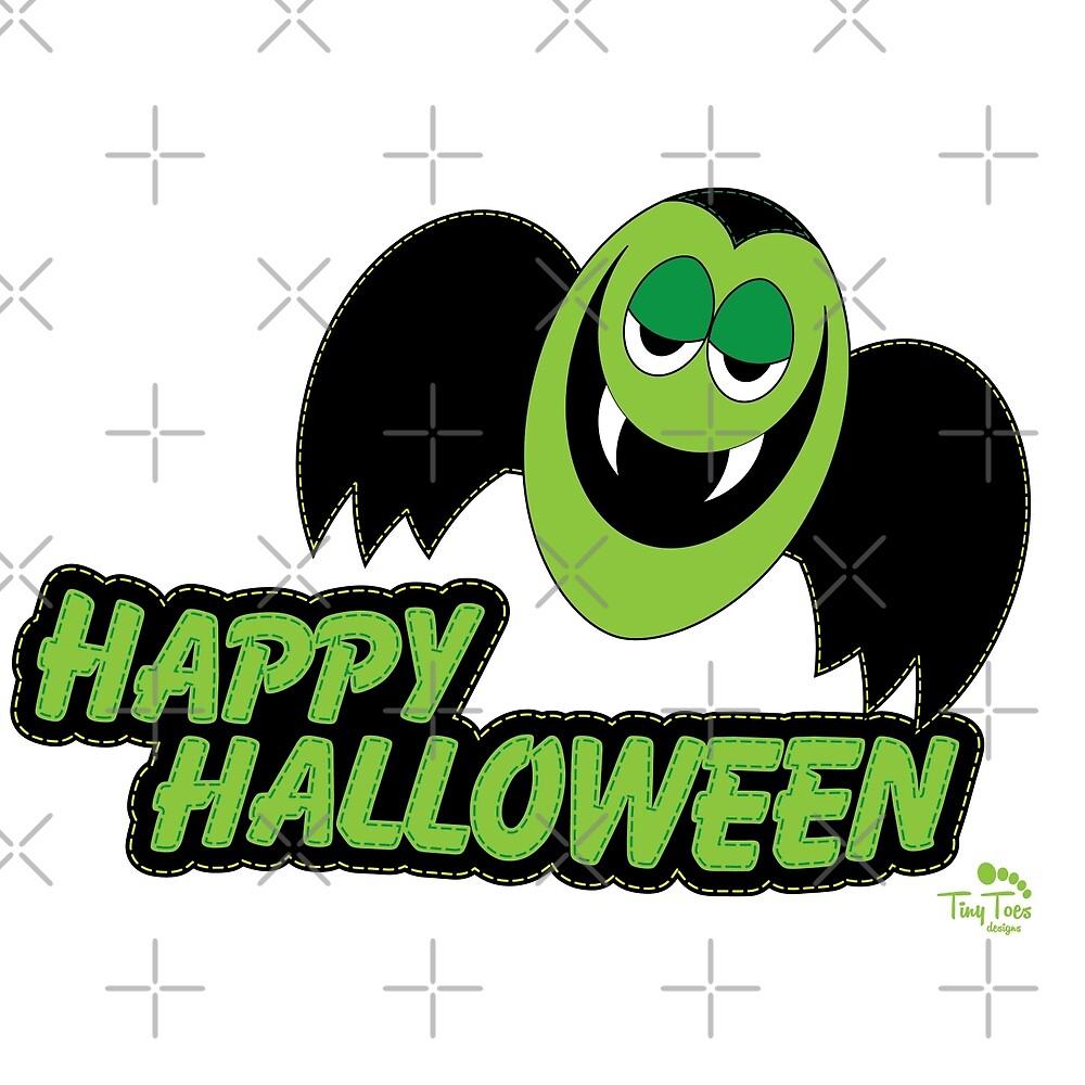 Vampire Count Happy Halloween by BadCatDesigns