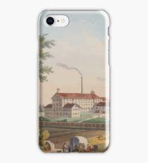 Johannes Läpple Heilbronn Zukerfabrik Eberhard Emminger Ca 1855 Farbig iPhone Case/Skin