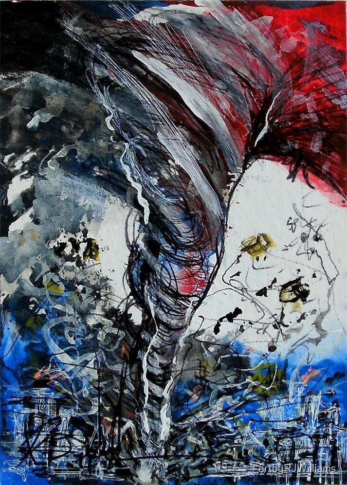 TORNADO TEARS THROUGH by artbyRJWilliams