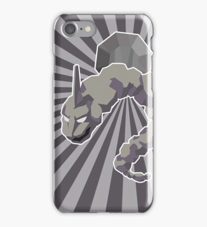 Boulder Badge Onix iPhone Case/Skin