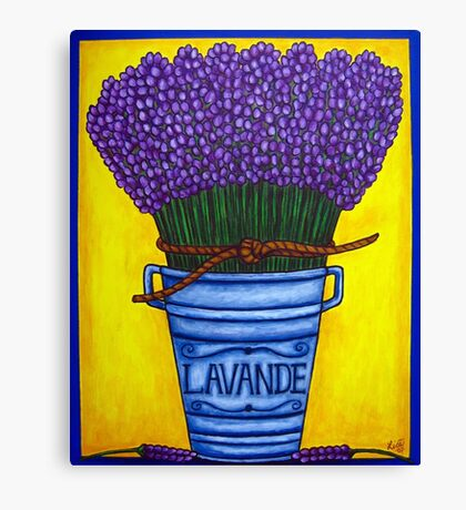Colours of Provence Canvas Print