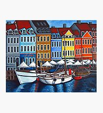 Colours of Nyhavn  Photographic Print
