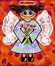 Groovey Angel - She's a hippy chick! by Lisafrancesjudd