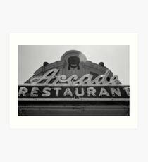 Arcade Restaurant, Memphis, Tennessee Art Print