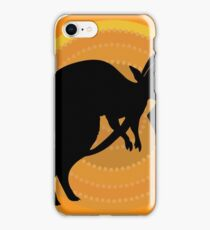 Kangaroos Running iPhone Case/Skin