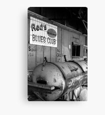 Red's Blues Club, Clarksdale, Mississippi Canvas Print