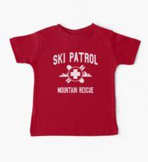 Ski Patrol & Bergrettung (Vintage-Look) Baby T-Shirt