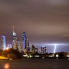 Surfers Paradise Lights by D Byrne