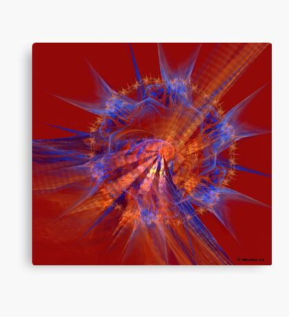 Shield of Change Canvas Print