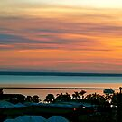 Sunset over Darwin by Lynette Higgs