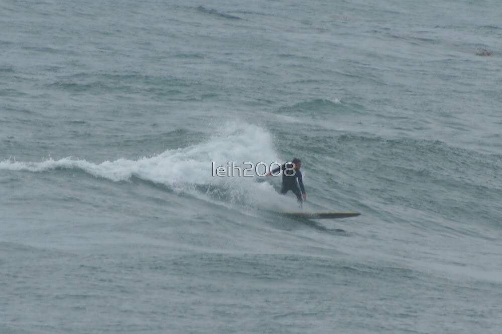 Surfer 1 C Wind & Sea; La Jolla, CA by leih2008