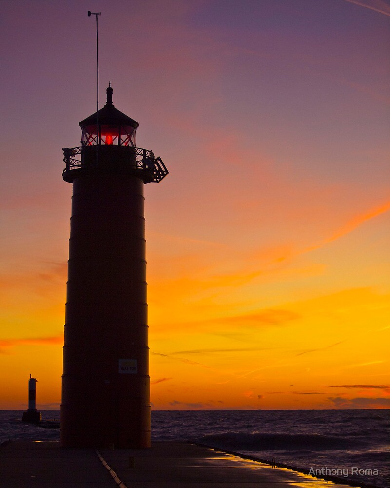 Predawn Lighthouse by Anthony Roma
