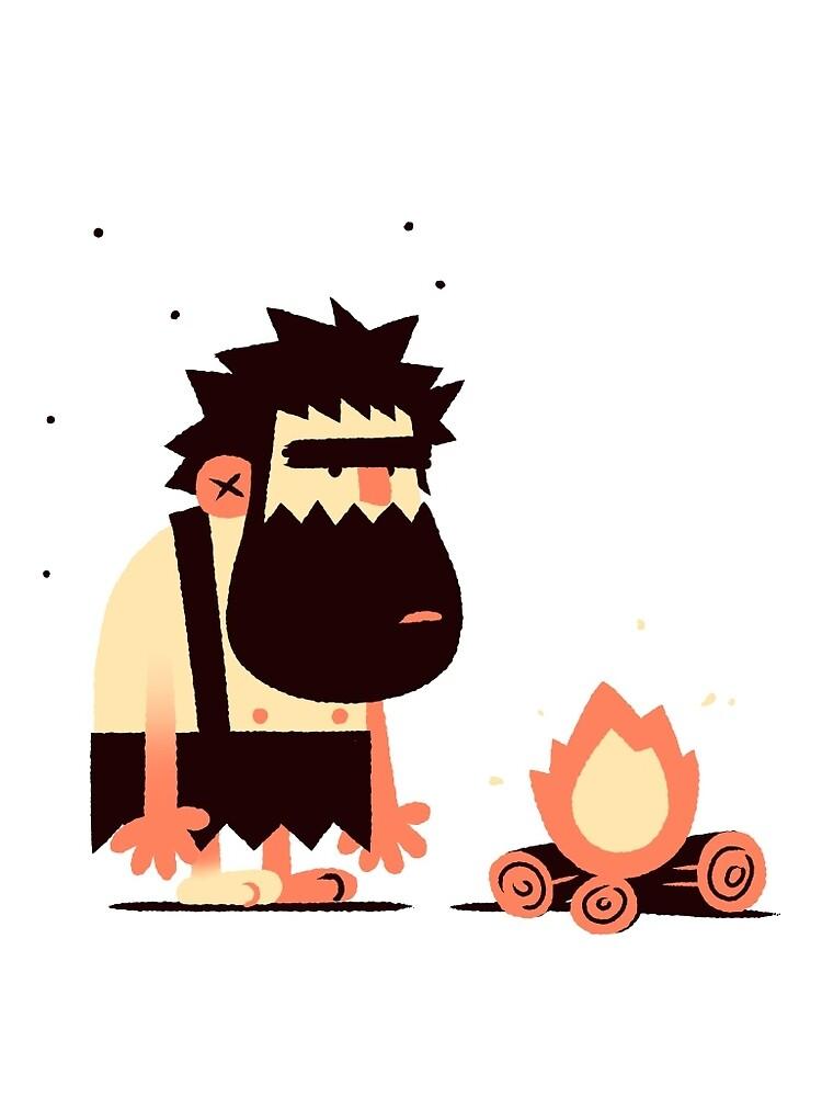 Caveman Fire by Joshua Menas