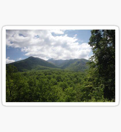 Mount LeConte Sticker