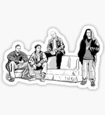 The Couch Sticker