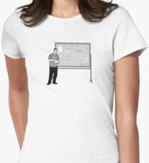 The Board Womens Fitted T-Shirt