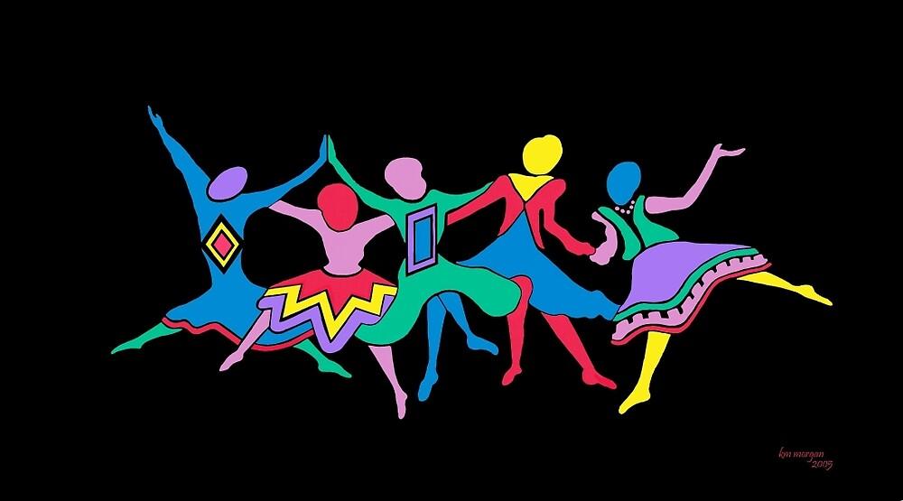 LINE DANCERS by karencolors
