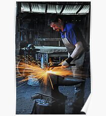 Blacksmith - Australiana Village Wilberforce NSW Australia Poster