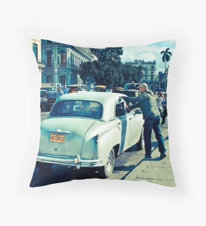Streets Of Havana #2 Throw Pillow