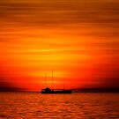 Sunset Sailing by Lynette Higgs