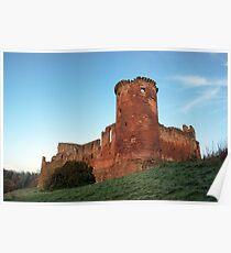 Bothwell Castle, Scotland Poster