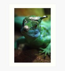 Leaping Lizards Art Print