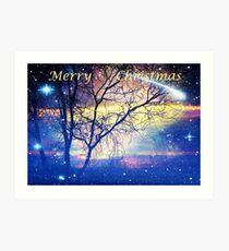 Merry Christmas 2011 Art Print