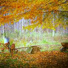 Painted Autumn Work Station by David Owens