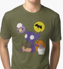 Pokemon Halloween - unshaded version Tri-blend T-Shirt