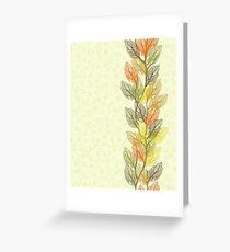 autumn card Greeting Card