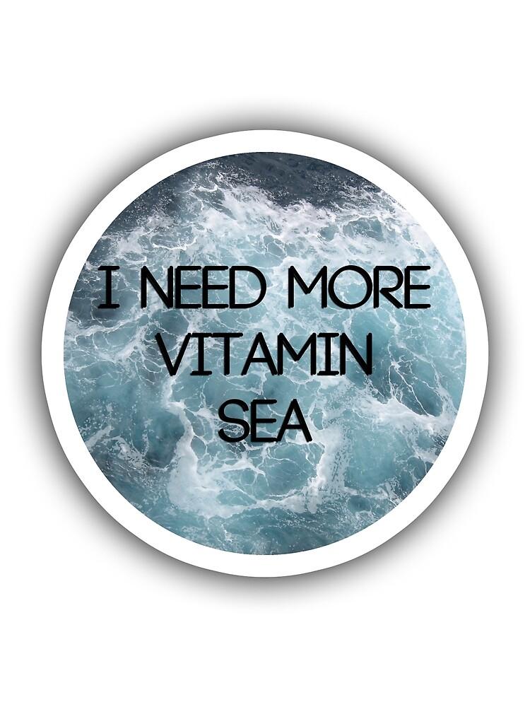Vitamin Sea by fandomwithlove