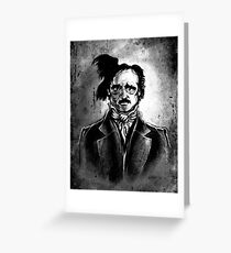 I am the Raven - Edgar Allen Poe Greeting Card
