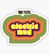 Muddy Waters Shirt Sticker