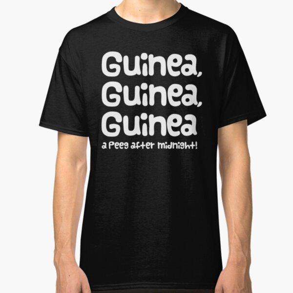 "Guinea Pig Slogan ""Guinea Guinea Guinea A Peeg After Midnight!"" Classic T-Shirt"