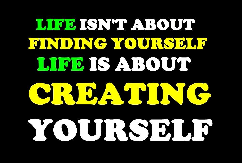 Create Yourself (Yellow/Green) by NatalieLauren