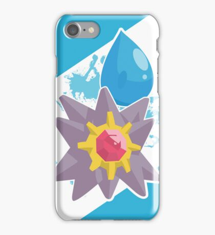 Cascade Badge Starmie iPhone Case/Skin