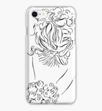 Bride with Bouquet iPhone Case/Skin