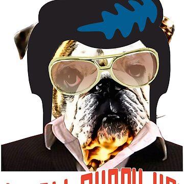 I'm all shook up dog by Billyflynn
