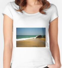 Kovalam beach Women's Fitted Scoop T-Shirt