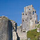 Corfe Castle, Dorset by Andrew Duke
