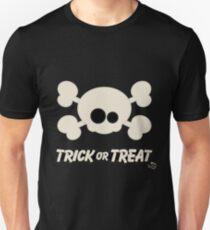 Cute Skull Trick or Treat Unisex T-Shirt