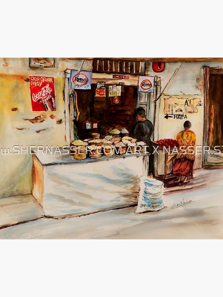 African corner store by shernasser