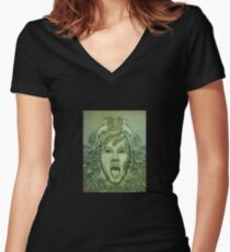 Hungry _T Shirt Design Women's Fitted V-Neck T-Shirt