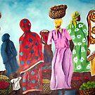 Mombasa Market by Sher Nasser