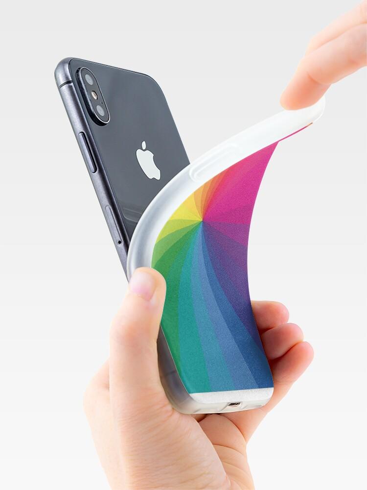 """Alternative Ansicht von Jamie xx """"In Farbe"""" Pantone Farbspektrum iPhone-Hülle & Cover"""