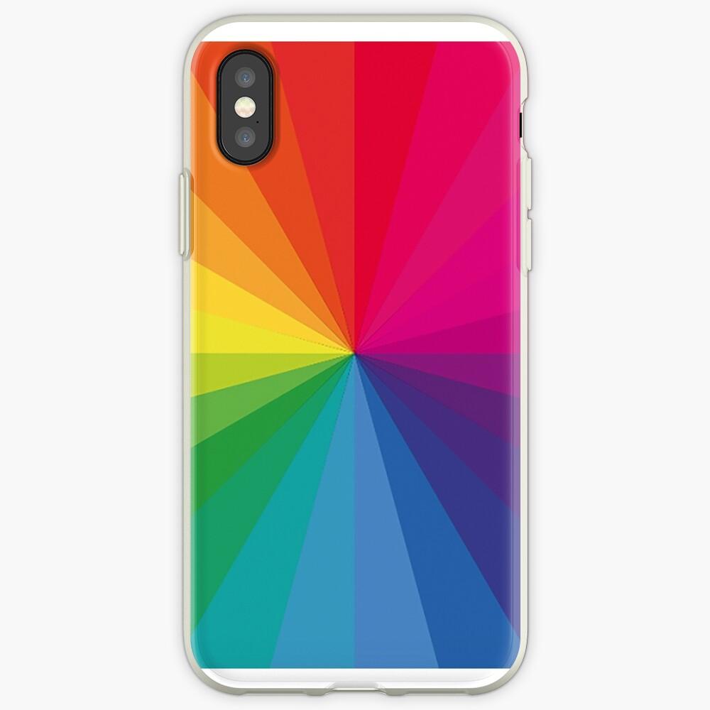 """Jamie xx """"In Farbe"""" Pantone Farbspektrum iPhone-Hülle & Cover"""