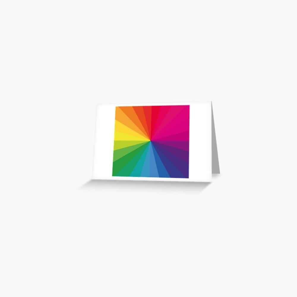 """Jamie xx """"In Farbe"""" Pantone Farbspektrum Grußkarte"""