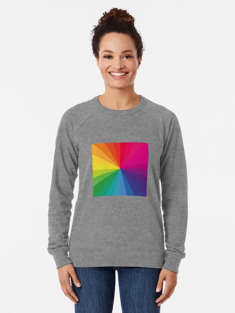 """Alternative Ansicht von Jamie xx """"In Farbe"""" Pantone Farbspektrum Leichter Pullover"""